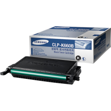 Samsung CLP-K660B H-Yield Blk Toner Cartridge